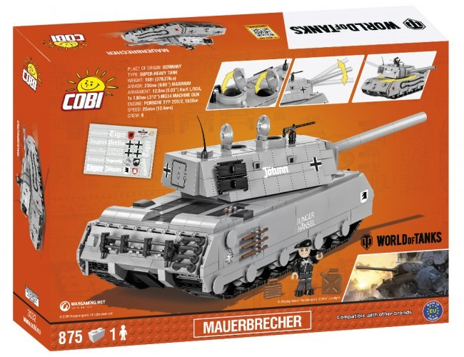 Czołg - Mauerbrecher Small Army 3032