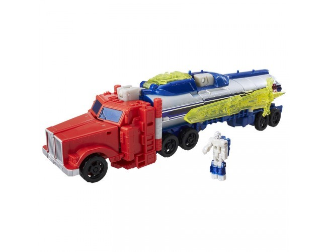 Generations Voyager Titans Return - Optimus Prime i Diac Transformers B7769 / C0276